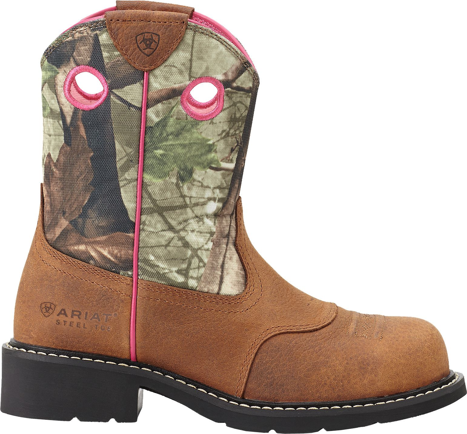Womens Ariat steel toe boots exclusive photo