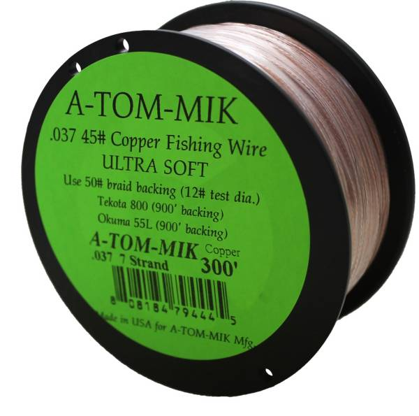 A-TOM-MIK Copper Fishing Wire Line-300' product image