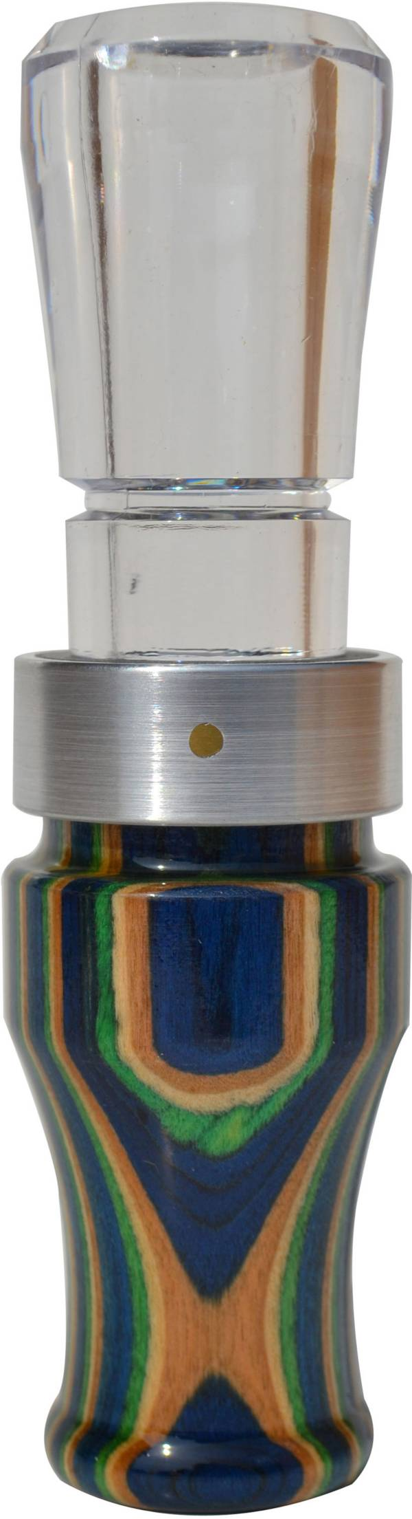 Buck Gardner Grey Ghost Diamond Wood Polycarbonate Goose Call product image