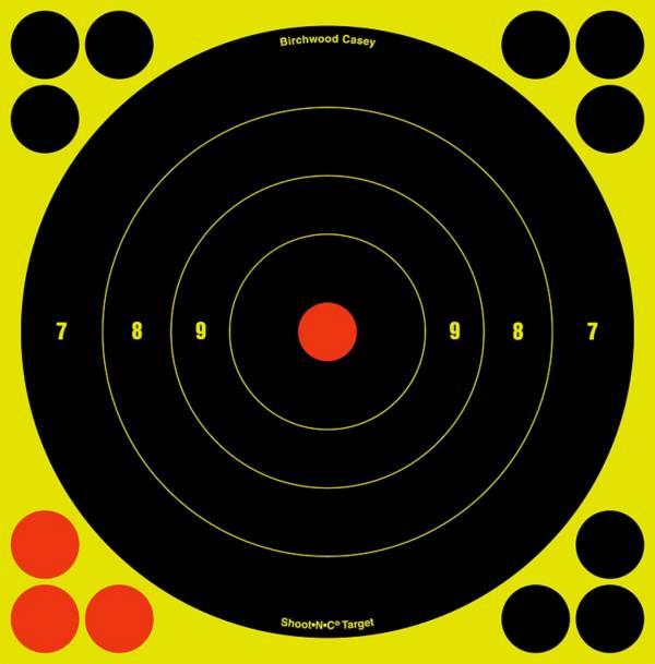 Birchwood Casey 8'' Shoot-N-C Bull's-Eye Target – 30 Pack product image