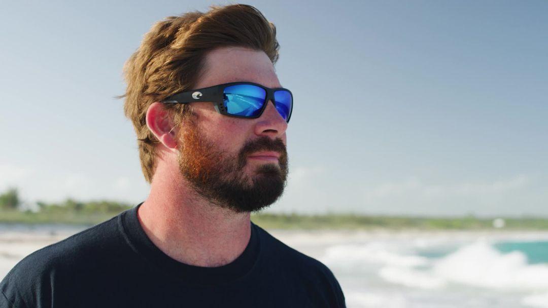 a63c2fc6e6 Costa Del Mar Tuna Alley 580P Polarized Sunglasses 2