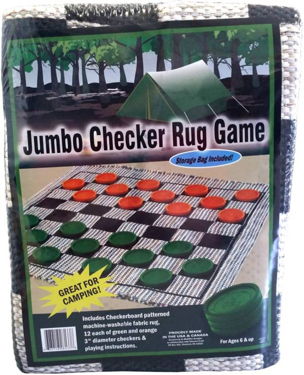 Channel Craft Jumbo Camping Checkers Rug product image