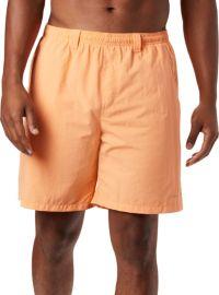 NEW COLUMBIA fishing board swim shorts swimsuit boardshorts sz 42 orange