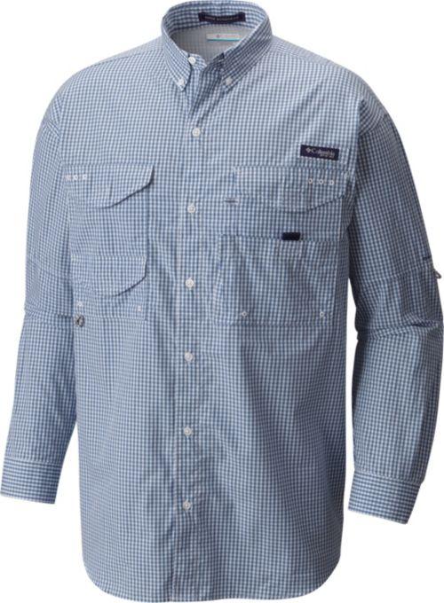 af7fe23f2 Columbia Men s PFG Super Bonehead Classic Long Sleeve Fishing Shirt ...