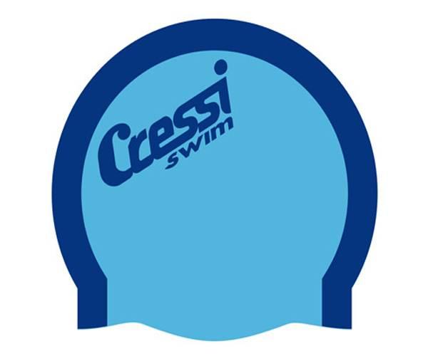 Cressi Bi-Color Silicone Swim Cap product image
