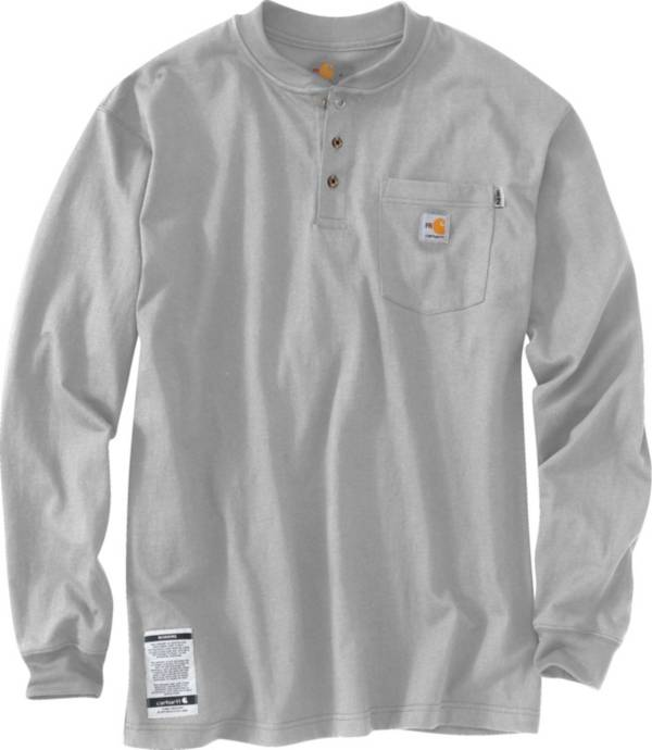 Carhartt Men's Force Flame Resistant Henley Long Sleeve Shirt product image