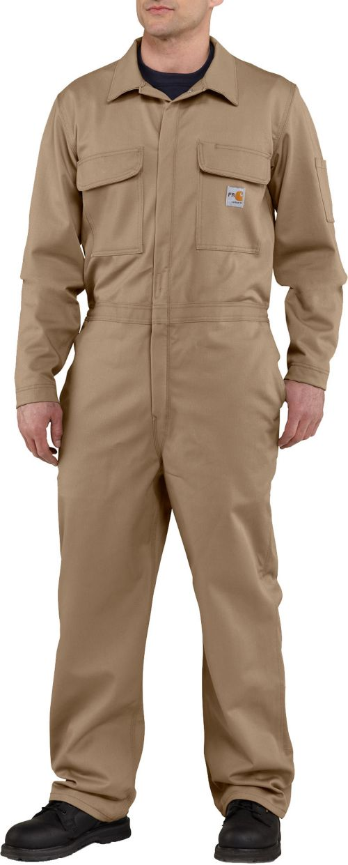 26cb390c47cb Carhartt Men s Flame Resistant Traditional Twill Coveralls