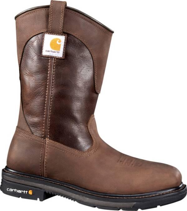 "Carhartt Men's 11"" Square Toe Wellington Steel Toe Work Boots product image"