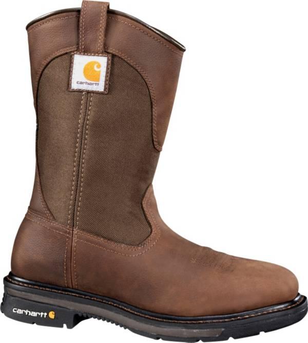 Carhartt Men's 11'' Square Toe Wellington Steel Toe Western Work Boots product image