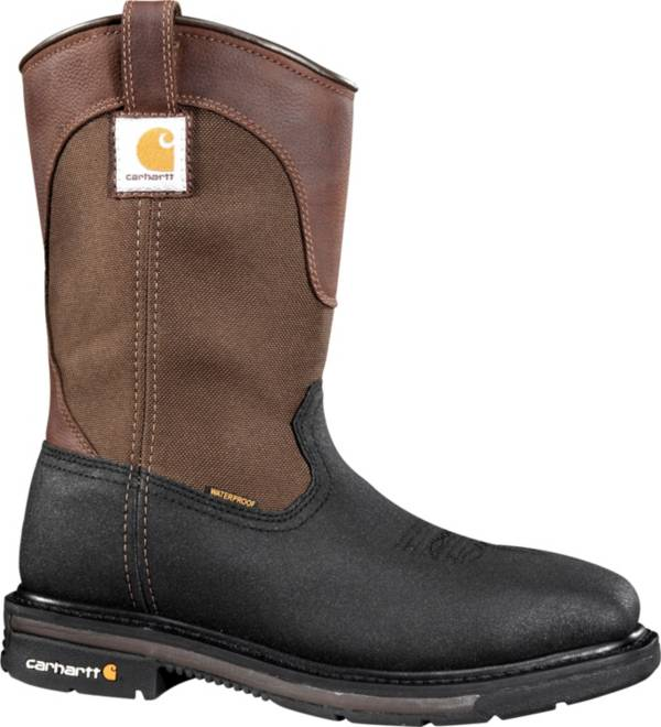 Carhartt Men's 11'' Wellington Square Toe Waterproof Steel Toe Work Boots product image