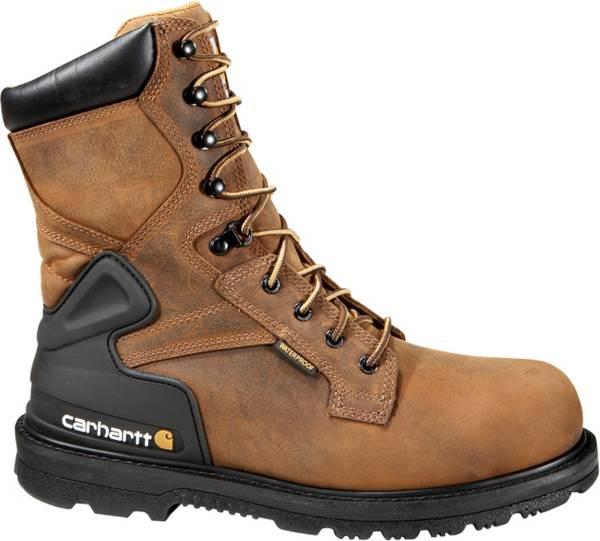 """Carhartt Men's Bison 8"""" Steel Toe Waterproof Work Boots product image"""