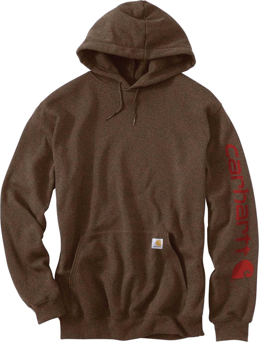 f46ac272c Carhartt Men's Midweight Hooded Logo Sleeve Sweatshirt. noImageFound. 1