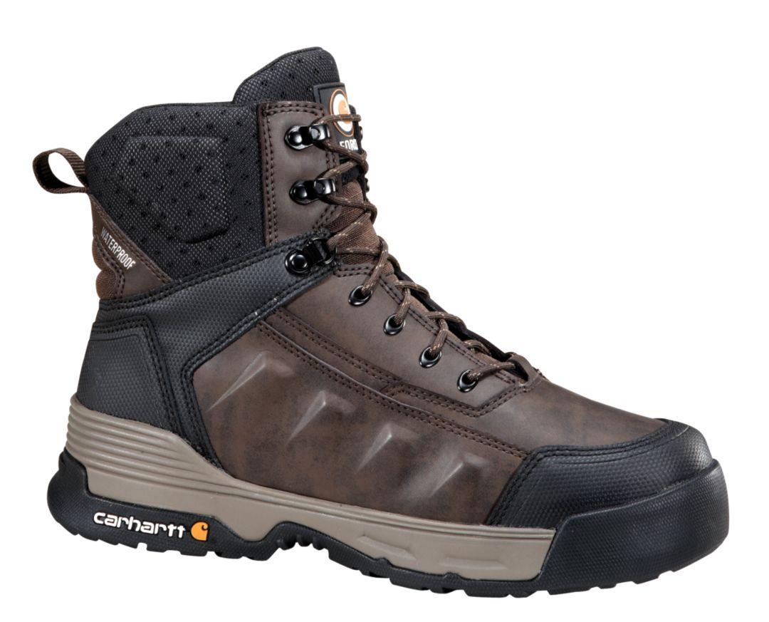 2b5fafa5dc3 Carhartt Men's Force 6'' Waterproof Soft Toe Work Boots