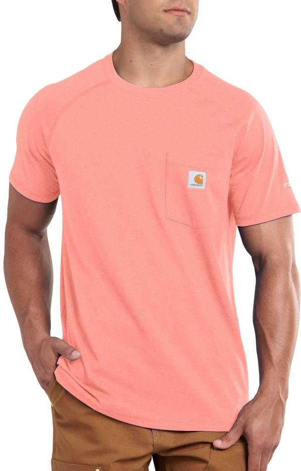 Carhartt Men's Force Cotton Delmont Short Sleeve T-Shirt (Regular and Big & Tall) product image