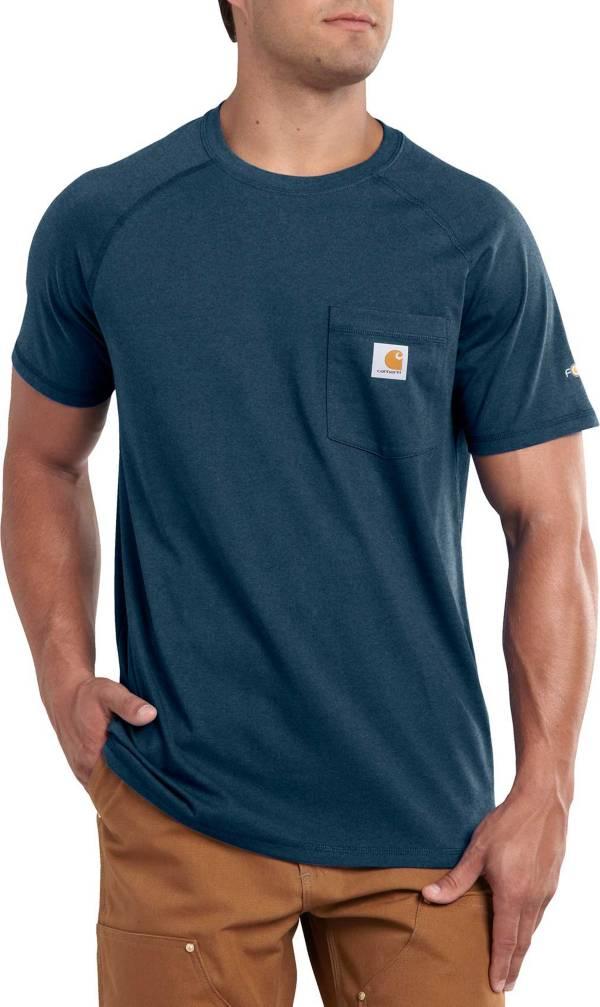 Carhartt Men's Force Cotton Delmont Short Sleeve T-Shirt product image