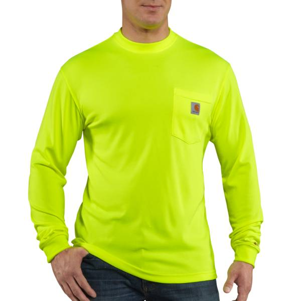 Carhartt Men's Force Color Enhanced Long Sleeve Shirt (Regular and Big & Tall) product image