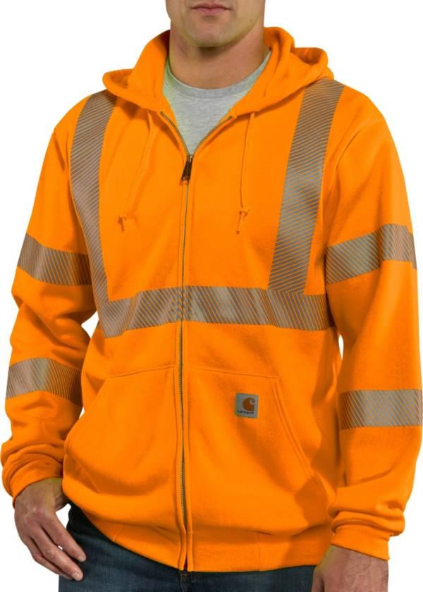 Carhartt Men's High-Visibility Zip-Front Class 3 Sweatshirt (Regular and Big & Tall) product image