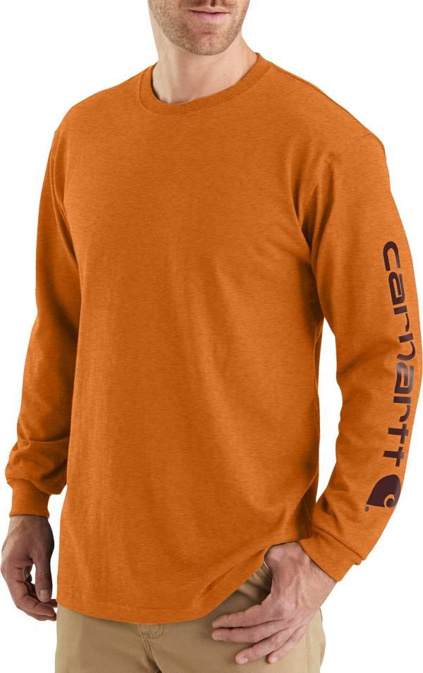 Carhartt Men's Graphic Logo Long Sleeve Shirt (Regular and Big & Tall) product image