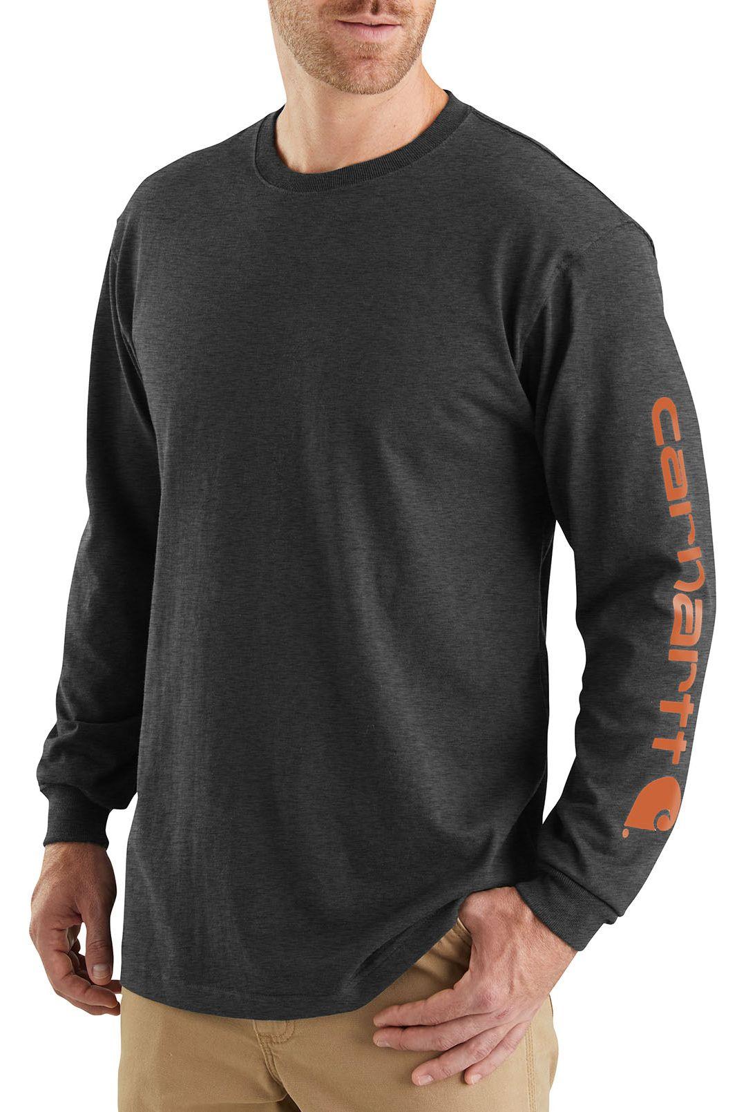5091c9266a Carhartt Men's Graphic Logo Long Sleeve Shirt. noImageFound. Previous