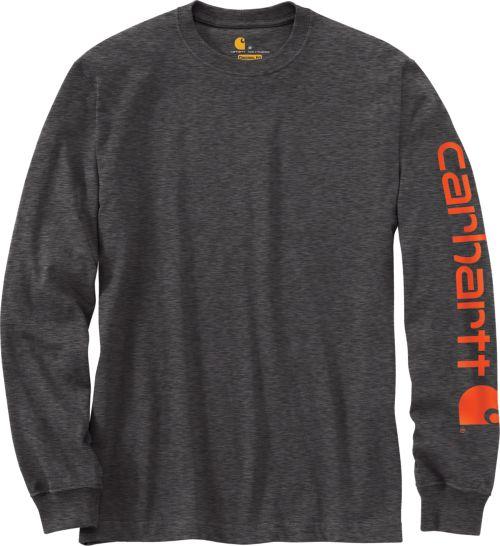 258482a10b9 Carhartt Men s Graphic Logo Long Sleeve Shirt