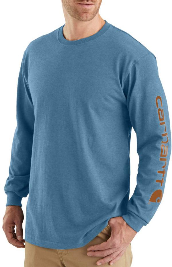 Carhartt Men's Graphic Logo Long Sleeve Shirt product image