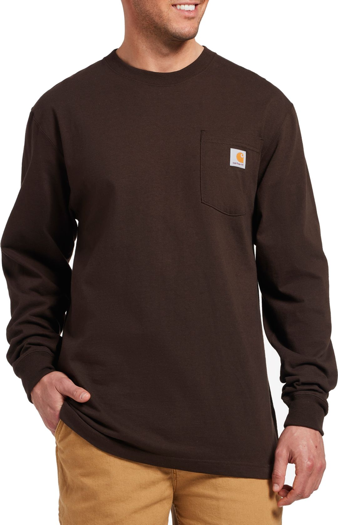 3780c483 Carhartt Men's Workwear Long Sleeve Shirt | DICK'S Sporting Goods