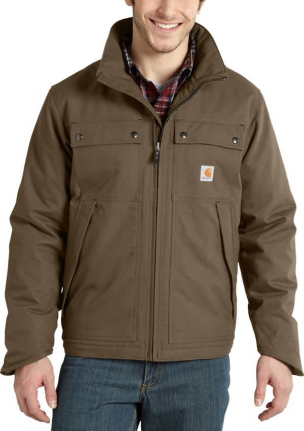 Carhartt Men's Quick Duck Jefferson Traditional Jacket (Regular and Big & Tall) product image