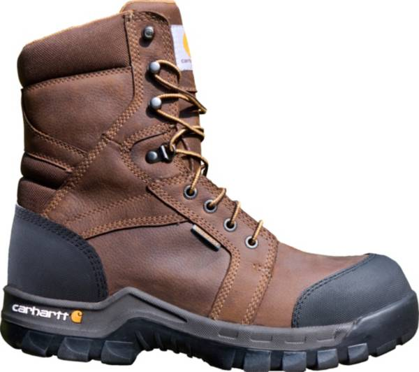 "Carhartt Men's Rugged Flex 8"" Composite Toe Waterproof Work Boots product image"