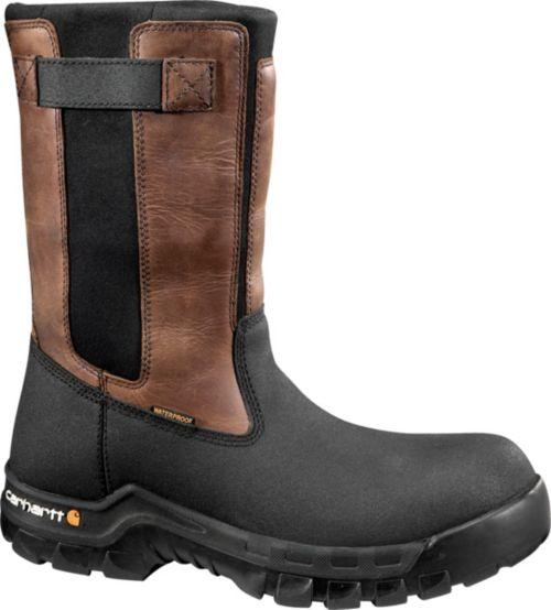 008a56651f60 Carhartt Men s Flex Mud Wellington 11   Composite Toe Work Boots ...