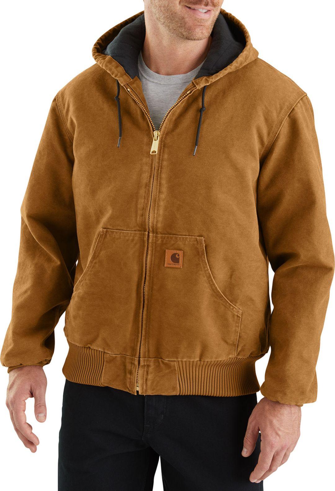 25839e5b566 Carhartt Men's Sandstone Active Lined Jacket. noImageFound. Previous
