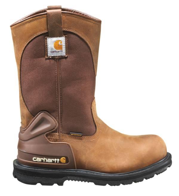 """Carhartt Men's 11"""" Wellington Steel Toe Waterproof Work Boots product image"""
