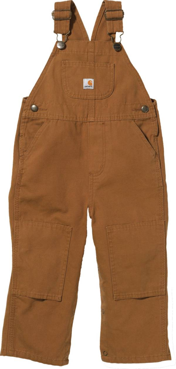 Carhartt Toddler Boys' Washed Canvas Bib Overalls product image