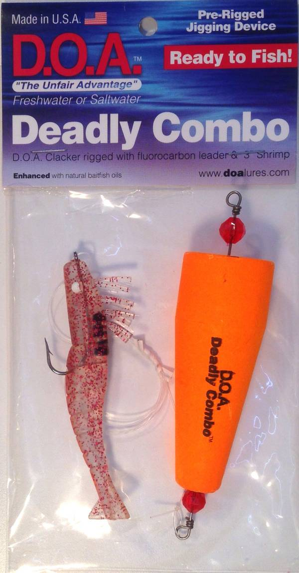 D.O.A. Deadly Combo Popper Clacker Rig product image