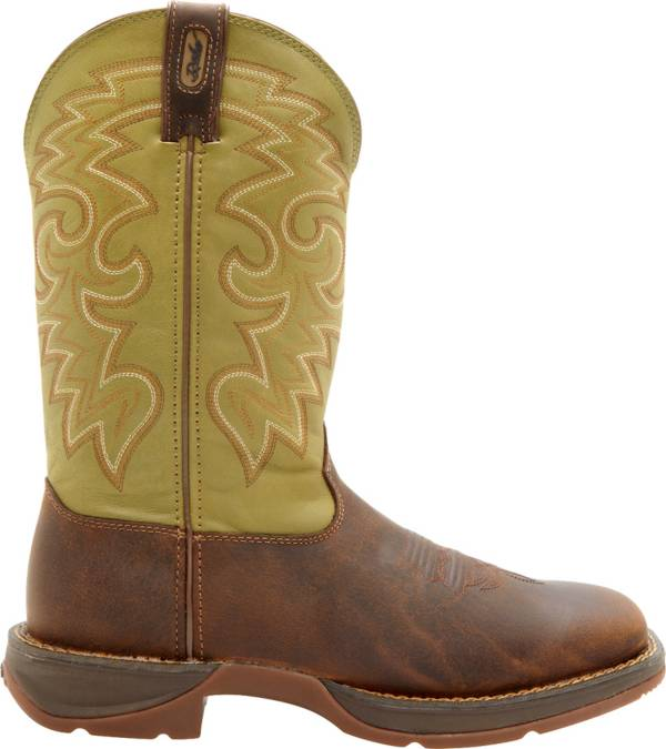 Durango Men's Coffee & Cactus Pull-On Work Boots product image