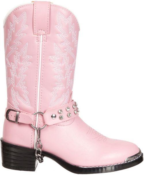 """5d793787a6df52 Durango Kids  Pink Bling 8"""" Western Boots"""