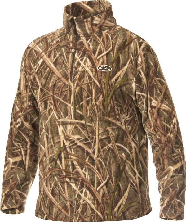 Drake Waterfowl Men's MST Camo Camp Fleece Pullover product image