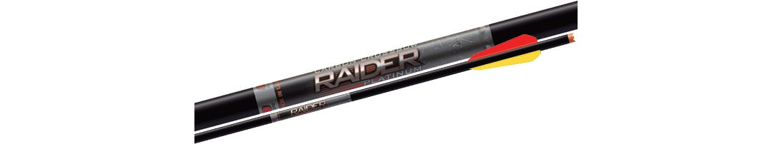 Easton Archery Carbon Raider Platinum Crossbow Bolts – 6 Pack