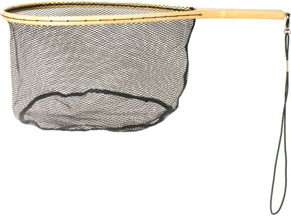Eagle Claw Wood Trout Net with Rubberized Netting product image