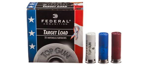 Federal Top Gun Target 12GA Patriotic Shotshell Ammunition product image