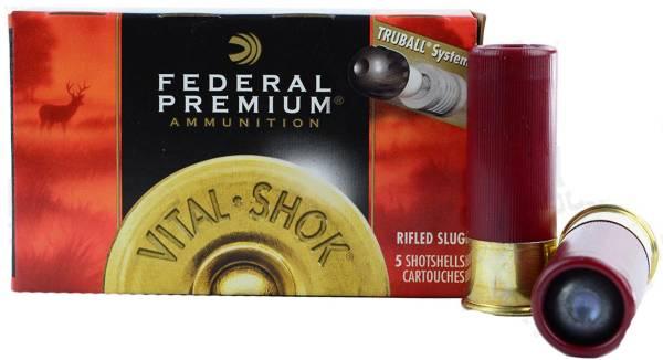 Federal Vital-Shok TruBall Rifled Slug Shotshell Ammunition product image
