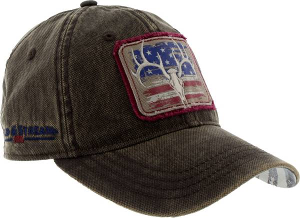 Field & Stream Men's Waxed Distressed Flag Hat product image