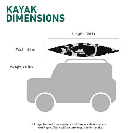 Field & Stream Eagle Talon 120 Kayak