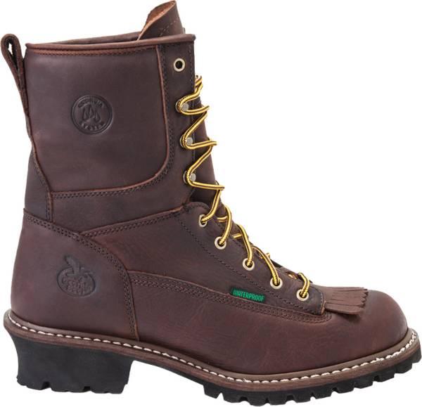 Georgia Boot Men's Logger Waterproof 8'' Steel Toe Work Boots product image