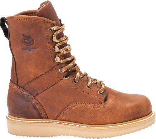 00f7d0ad7e34 Georgia Boot Men s Barracudda Gold Wedge Work Boots