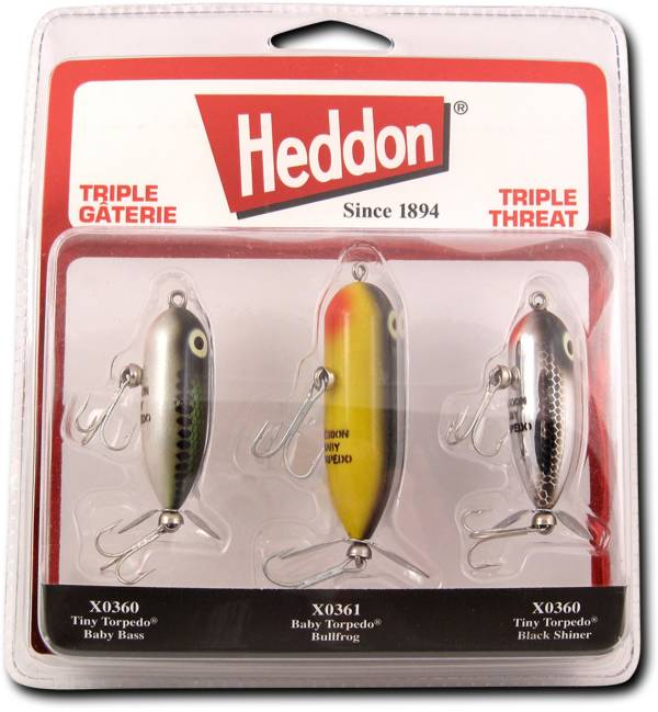 Heddon Triple Threat Torpedo Propbait Kit product image