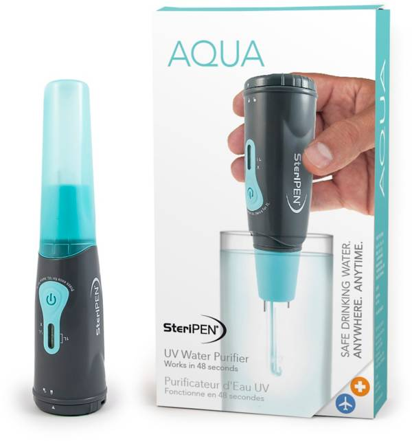 SteriPEN Aqua Portable UV Water Purifier product image