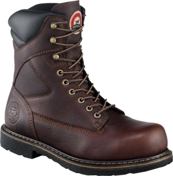 "Irish Setter Men's 8"" Steel Toe Work Boots product image"