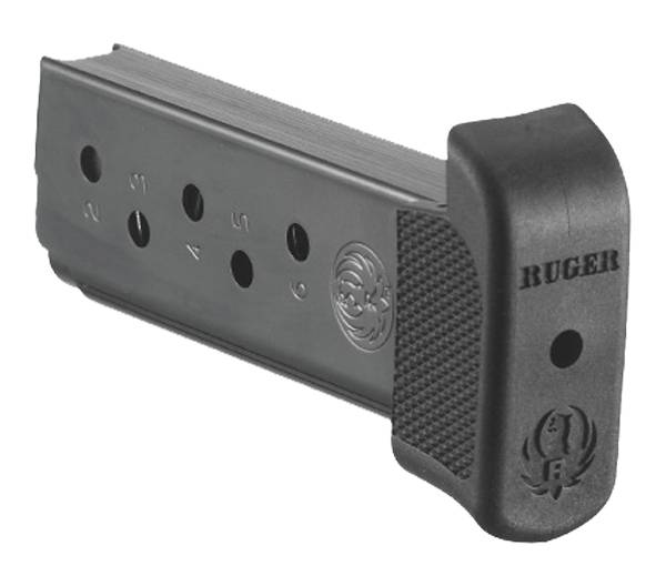 Ruger LC9 .380 ACP Blue Steel Magazine w/ Finger Rest – 7 Rounds product image