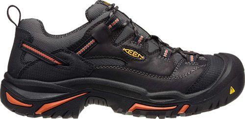 769086da8d KEEN Men s Braddock Low Steel Toe Work Shoes
