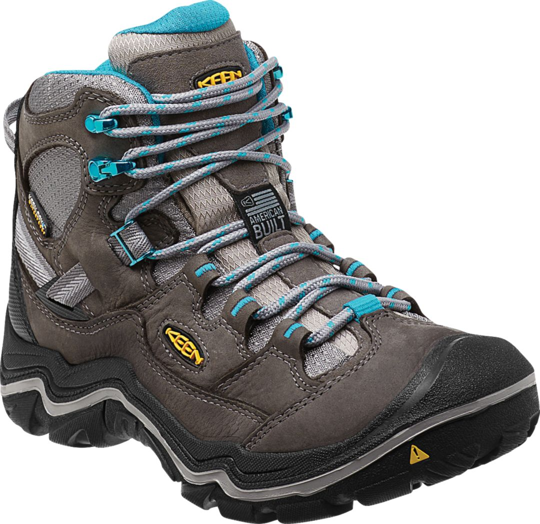 5b7c6983045 KEEN Women's Durand Mid Waterproof Hiking Boots
